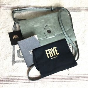 NWT FRYE Melissa Crossbody / Wallet - Fern Mint